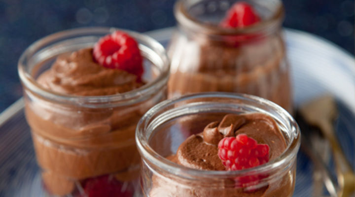 St Tola Chocolate & Vodka Mousse