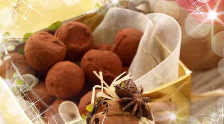 Chocolate and Orange Truffles