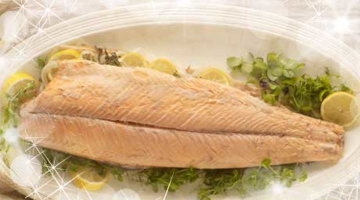 Whole Baked Salmon