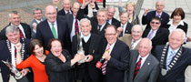 KILLARNEY, Winners of 2011 TIDYTOWNS