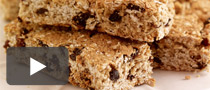 Healthy Fruit and Oat Bars