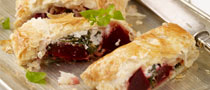 Beetroot, Spinach & Goats Cheese Parcels