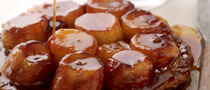 Caramelised Banana and Dark Rum Tart Tatin