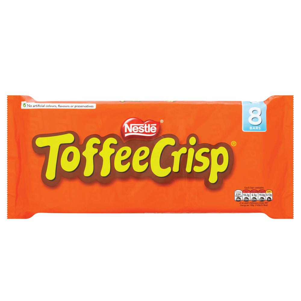 Toffee Crisp Multipack 8 Pack Supervalu