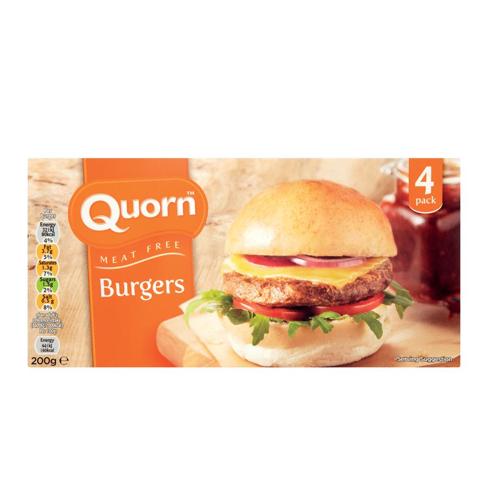 Quorn Frozen Burgers 200g - SuperValu