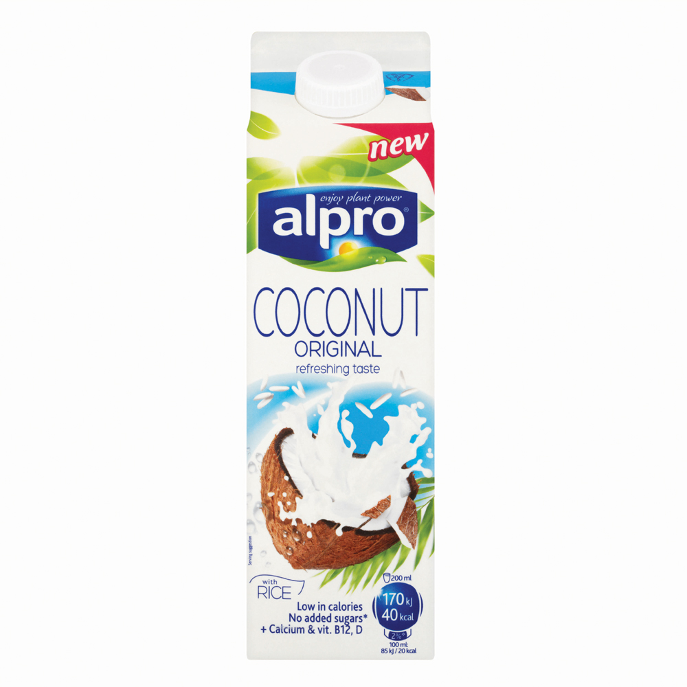 Alpro coconut original 1ltr supervalu for Alpro coconut cuisine