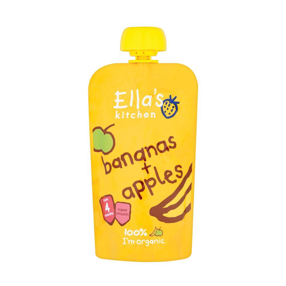 Ella's Kitchen Apple & Banana Pouch 120g - SuperValu