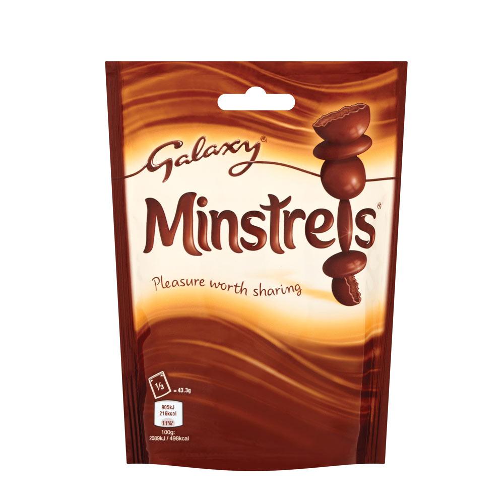 galaxy minstrels pouch 130g