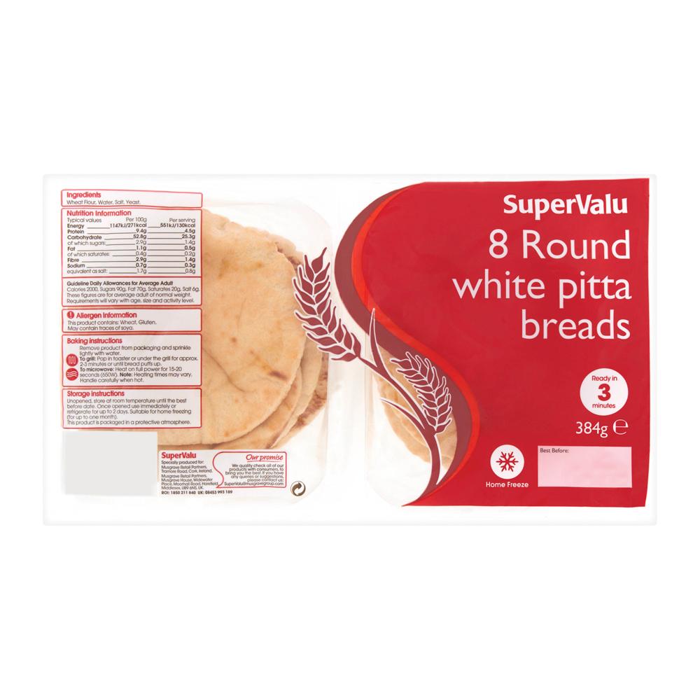 SuperValu Pitta Bread - SuperValu
