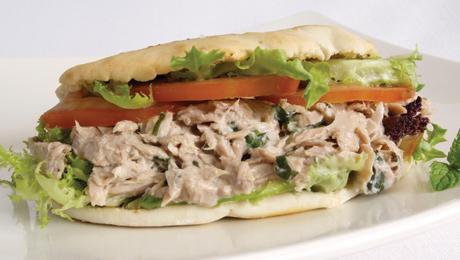 Pitta Bread with Tuna & Sweetcorn filling - SuperValu