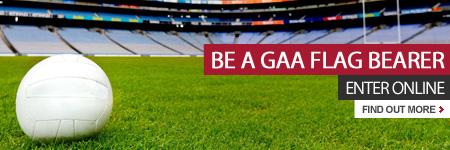 Be a GAA flag bearer