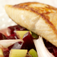 Salmon Darne on a bed of Beetroot