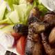 Chicken Drumsticks and Salad