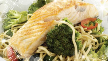 SuperValu | Pan Seared Salmon with Chilli Noodles