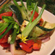 Grilled Vegetable Salad With Goats Cheese
