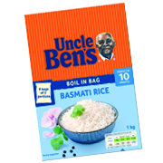 Uncle Ben's Boil in the Bag Range 1kg