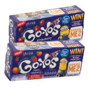 Glenisk Organic Go-Yo's Yogurt Tubes 240g