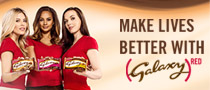 Make Lives better with Galaxy (RED)