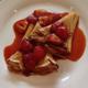 Crepe Suzette With Strawberry & Cream