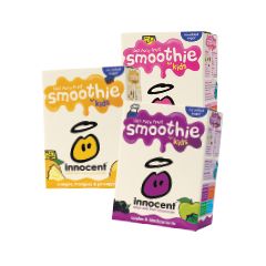 Innocent Smoothies Pack 4 x 180ml
