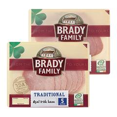 Brady Family Ham Range 100g