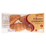 SuperValu Butter Croissant 4 Pack 168g
