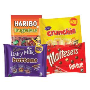 Nestle/ Cadbury/ Mars Funsize Packs