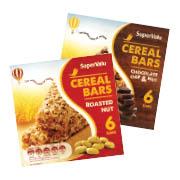 SuperValu Roasted Nut/Chocolate Chip & Nut Cereal Bars 156g