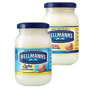 Hellmann's Real/Light Mayonnaise 200g