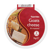 SuperValu Goats Cheese & Mustard 70g