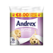 Andrex Puppies on a Roll 16 Roll